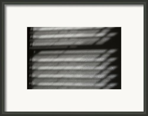 Texture In The Shadows Framed Print By Christi Kraft