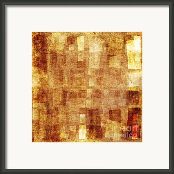Textured Background Framed Print By Jelena Jovanovic