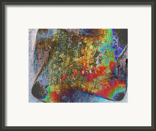 Textured Framed Print By Tom Druin