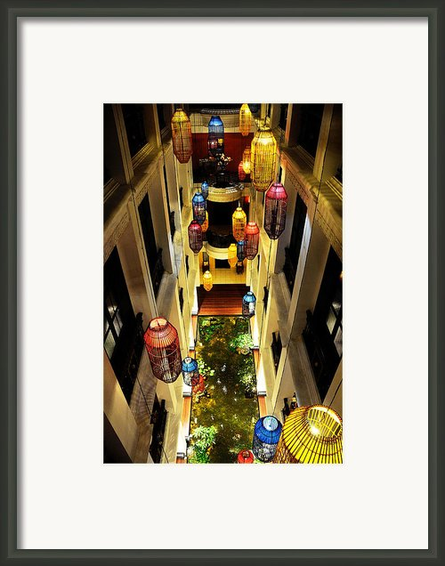 Thai Hotel Framed Print By Money Sharma