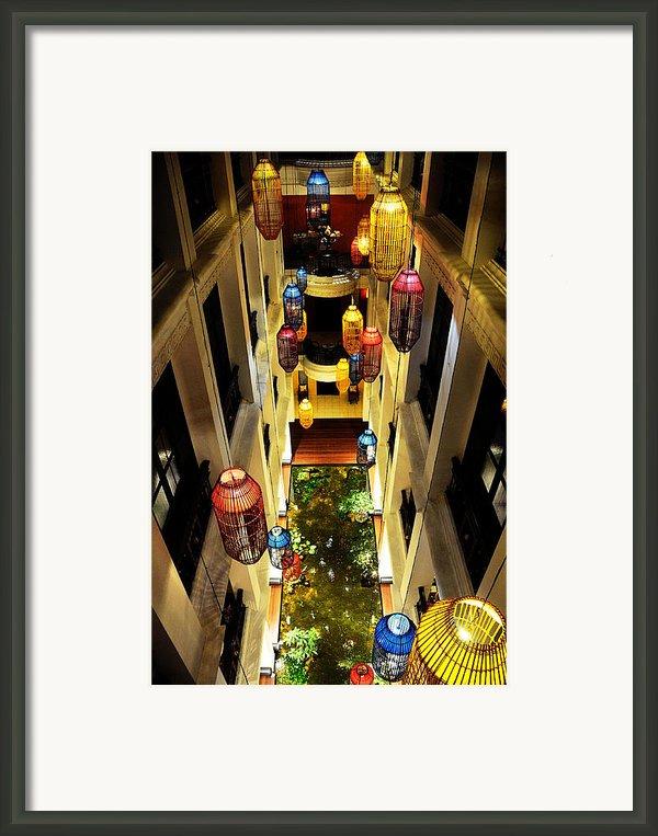Thai Hotel Framed Print By Money Sharma