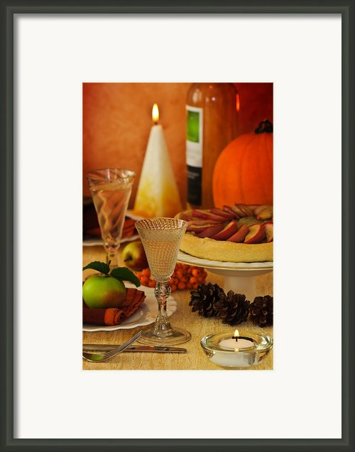 Thanksgiving Table Framed Print By Christopher And Amanda Elwell