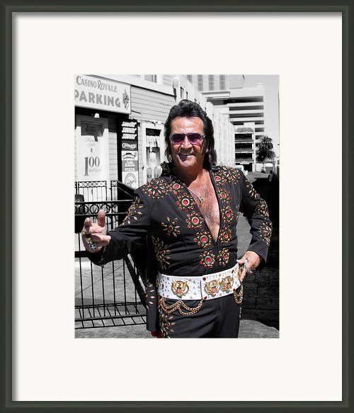 Thankyouverymuch Las Vegas Framed Print By William Dey