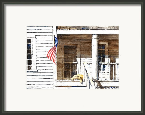 The 5th Of July Framed Print By William Beaupre