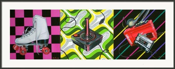 The 80s Framed Print By Anthony Mezza