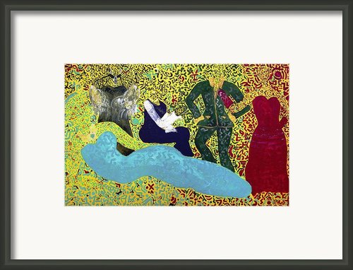 The Agora Framed Print By Tahnya Spirit