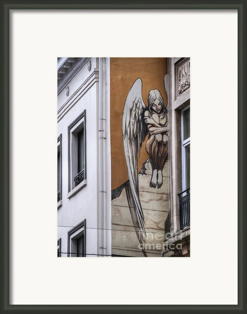 The Angel Framed Print By Juli Scalzi