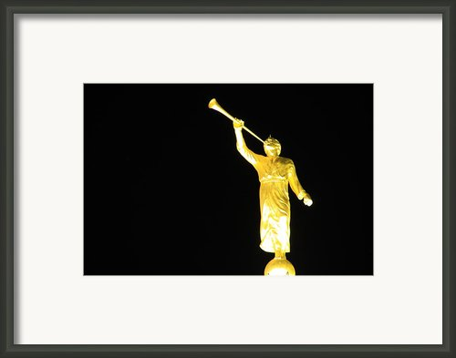 The Angel Moroni Framed Print By Cynthia  Cox Cottam