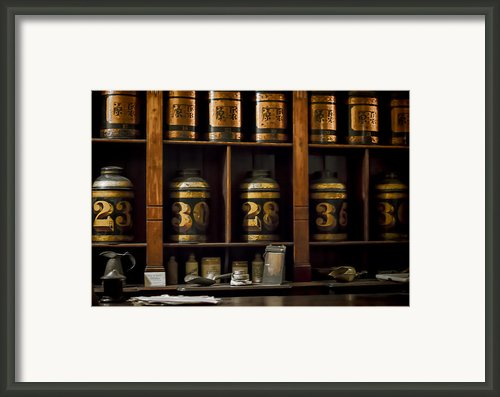 The Apothecary Framed Print By Heather Applegate