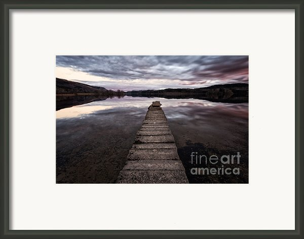 The Aproach Of Night Framed Print By John Farnan