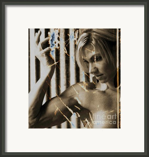 The Art Of Beauty  Framed Print By Steven  Digman
