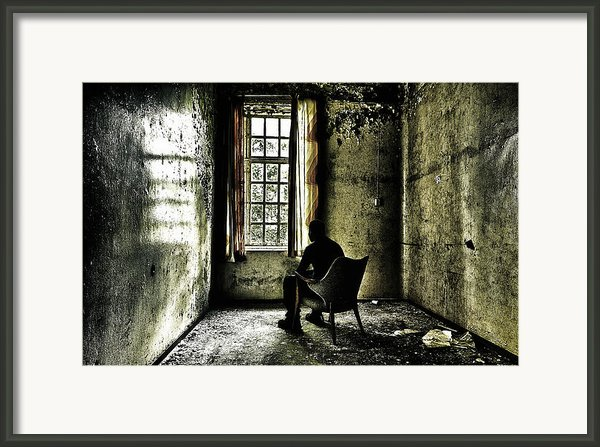 The Asylum Project - A Room With A View Framed Print By Erik Brede