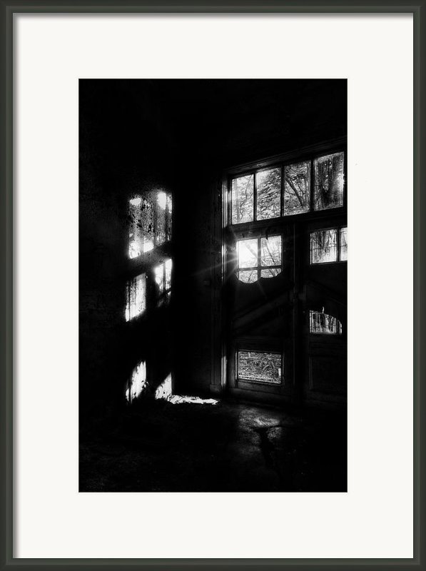 The Asylum Project - Creepy Entrance Framed Print By Erik Brede