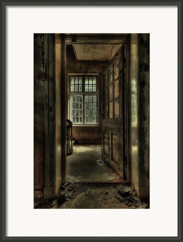The Asylum Project - Welcome Framed Print By Erik Brede