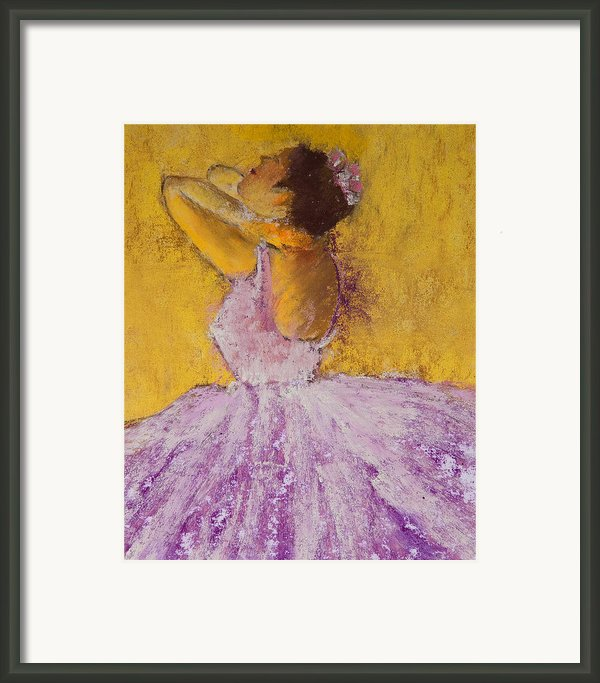 The Ballet Dancer Framed Print By David Patterson