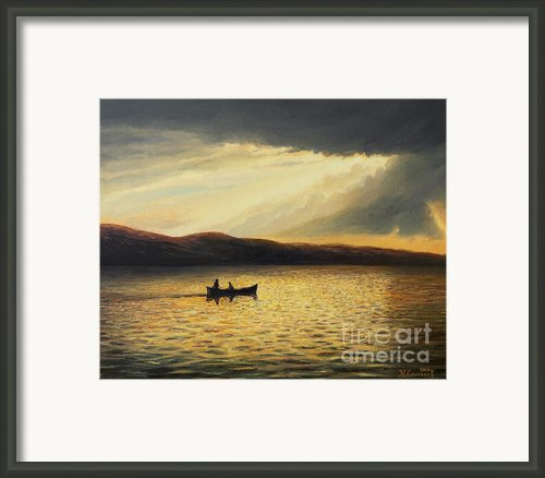 The Bay Of Silence Framed Print By Kiril Stanchev
