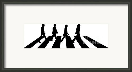 The Beatles No.02 Framed Print By Caio Caldas