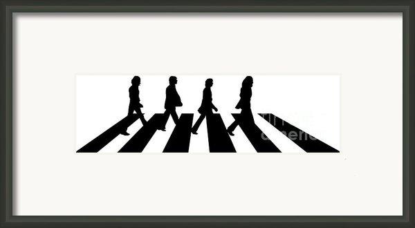 The Beatles No.02 Framed Print By Caio Caldas