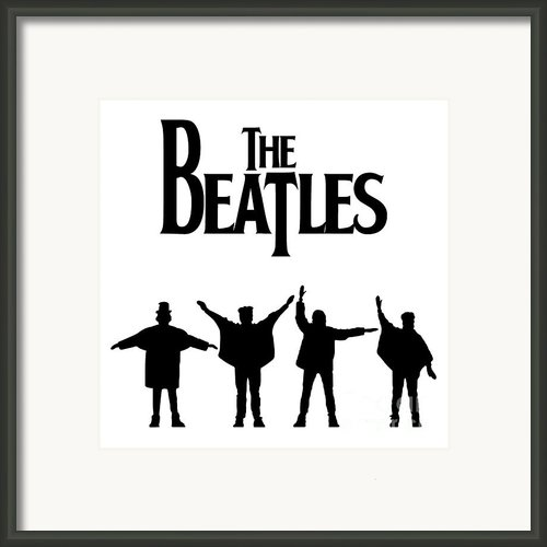 The Beatles No.06 Framed Print By Caio Caldas