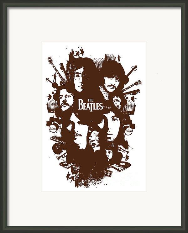 The Beatles No.15 Framed Print By Caio Caldas
