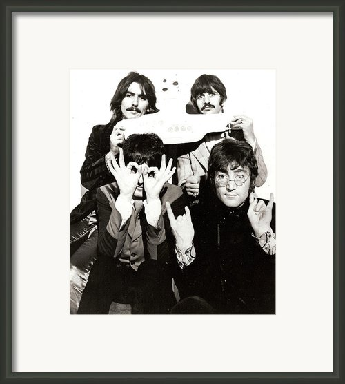 The Beatles Yellow Submarine Framed Print By Sanely Great
