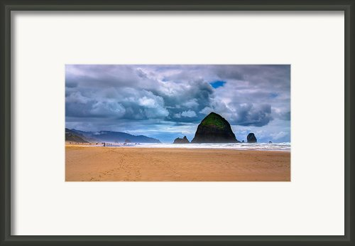 The Beautiful Cannon Beach Framed Print By David Patterson