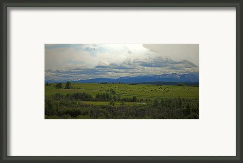 The Beauty Of Alberta Framed Print By Laura Bentley