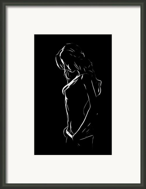 The Beauty Of Innocence Framed Print By Stefan Kuhn