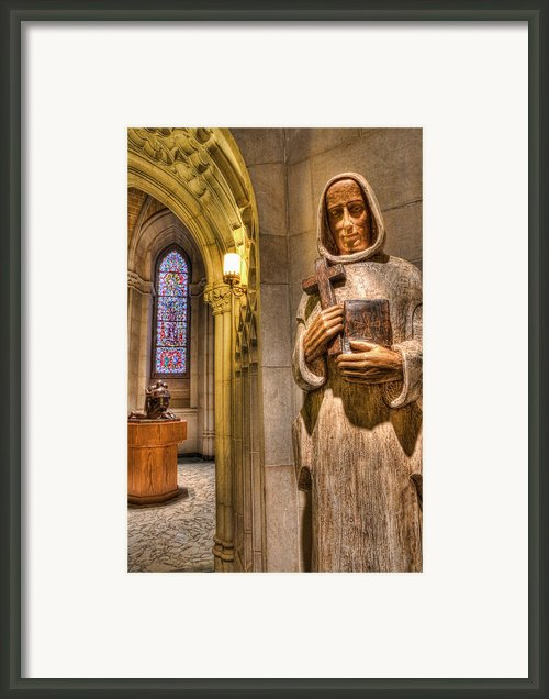 The Benedictine Order Framed Print By Lee Dos Santos