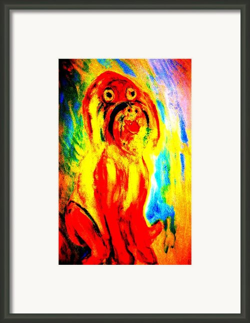 The Best Guard  Framed Print By Hilde Widerberg