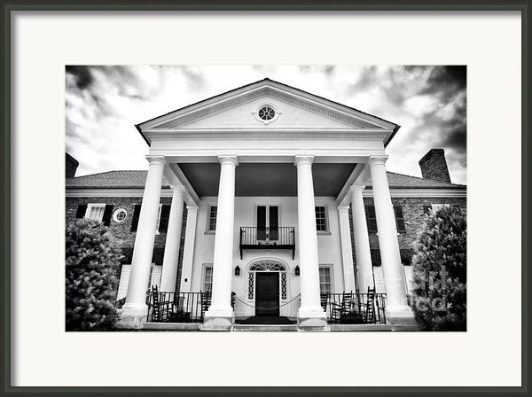 The Big House Framed Print By John Rizzuto