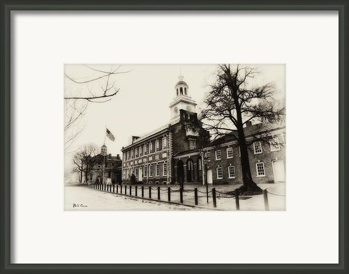 The Birthplace Of Freedom Framed Print By Bill Cannon