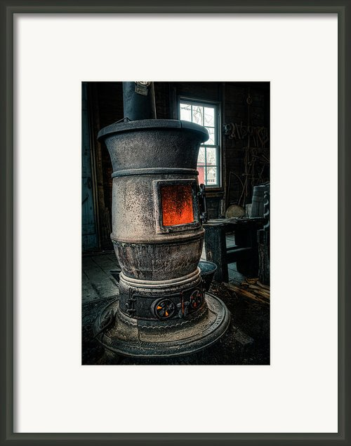 The Blacksmiths Furnace - Industrial Framed Print By Gary Heller