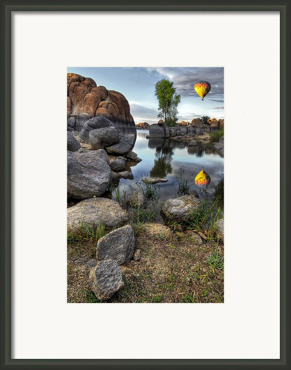 The Bobber Framed Print By Sean Foster