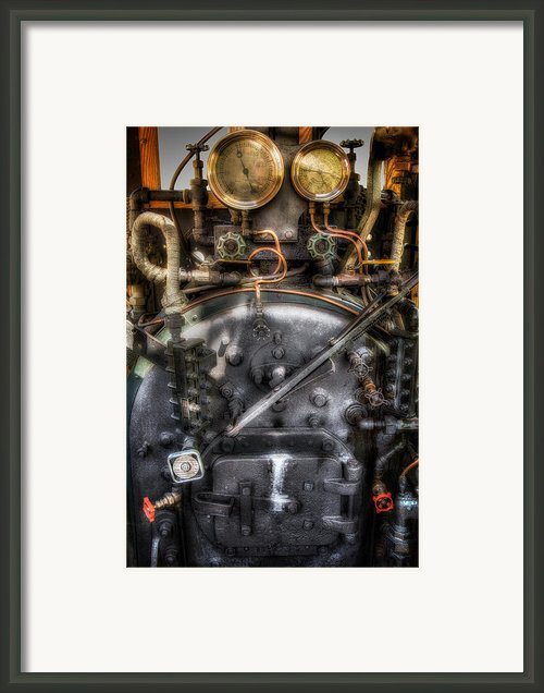 The Boiler Framed Print By Bill  Wakeley