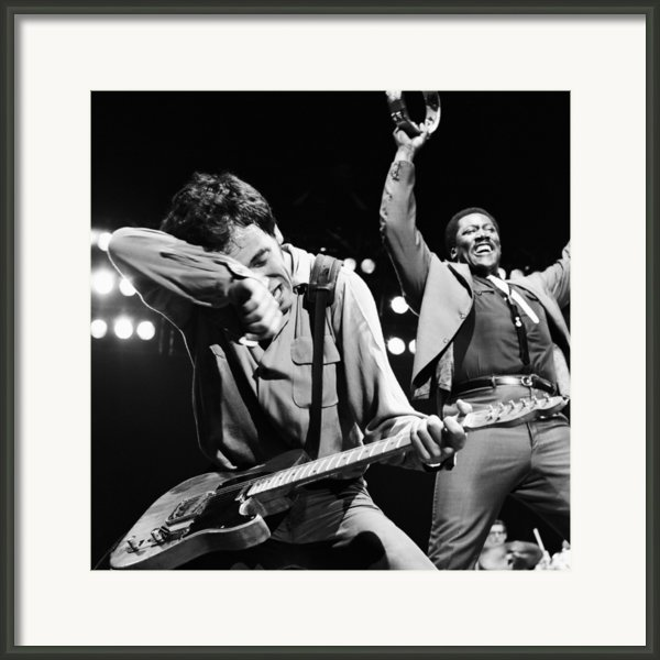 The Boss And The Big Man Framed Print By Chris Walter
