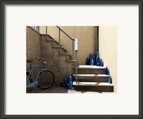 The Bottle Collector Framed Print By Cynthia Decker