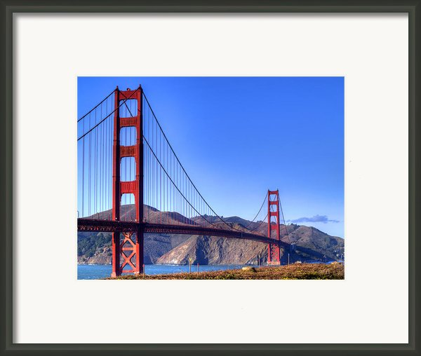 The Bridge Framed Print By Bill Gallagher