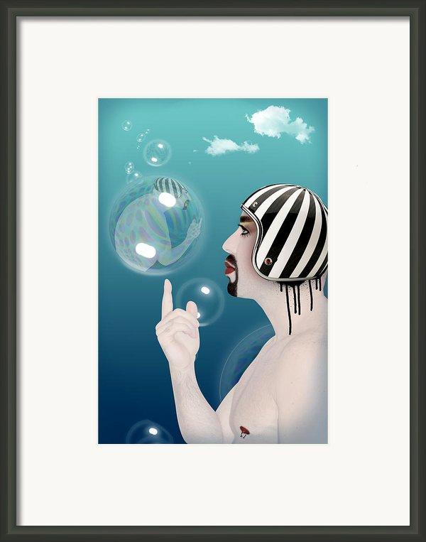 The Bubble Man Framed Print By Mark Ashkenazi