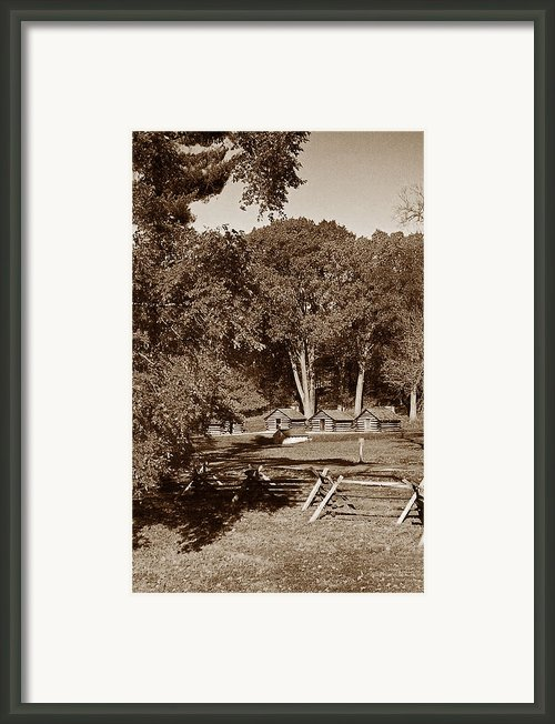 The Cabins Framed Print By Skip Willits