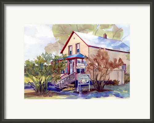 The Candy Shoppe Framed Print By Kris Parins