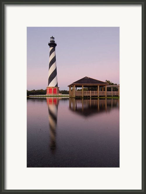 The Cape Hatteras Lighthouse Framed Print By Mark Vandyke