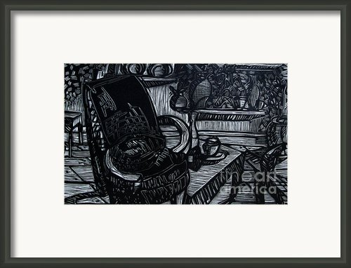 The Chair Of My Dreams Framed Print By Charlie Spear