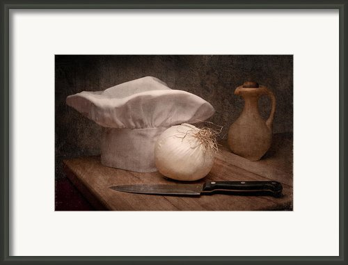 The Chef Framed Print By Tom Mc Nemar