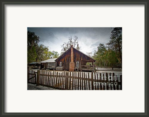 The Chesser Homestead Framed Print By M J Glisson