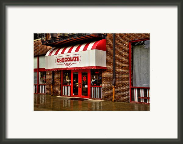 The Chocolate Factory Framed Print By David Patterson