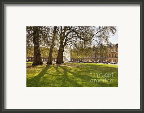 The Circus Bath Somerset Framed Print By Colin And Linda Mckie