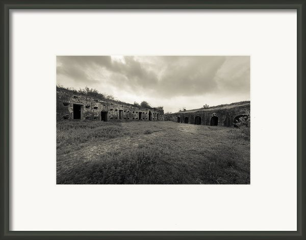 The Citadel At Fort Macomb Framed Print By David Morefield