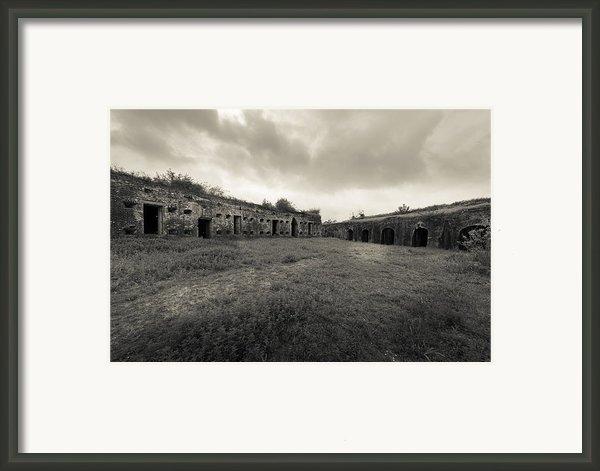 The Citadel At Fort Macomb Framed Print By David Morefield