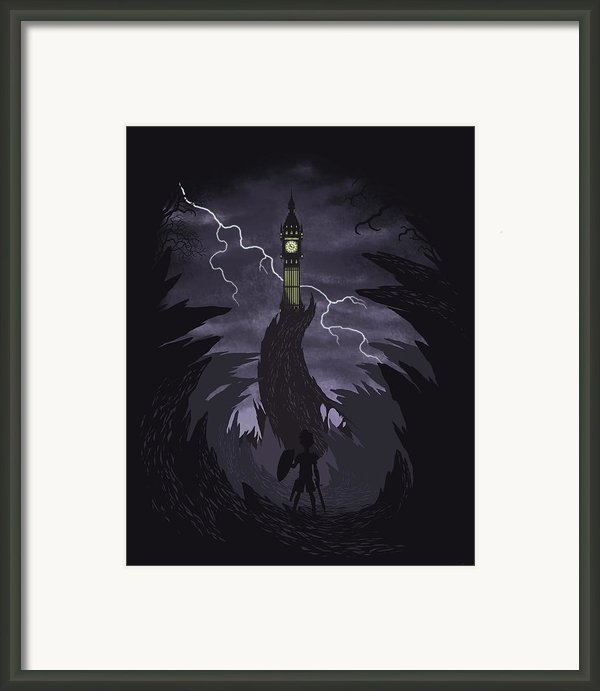 The Clock Tower Framed Print By Christopher Ables